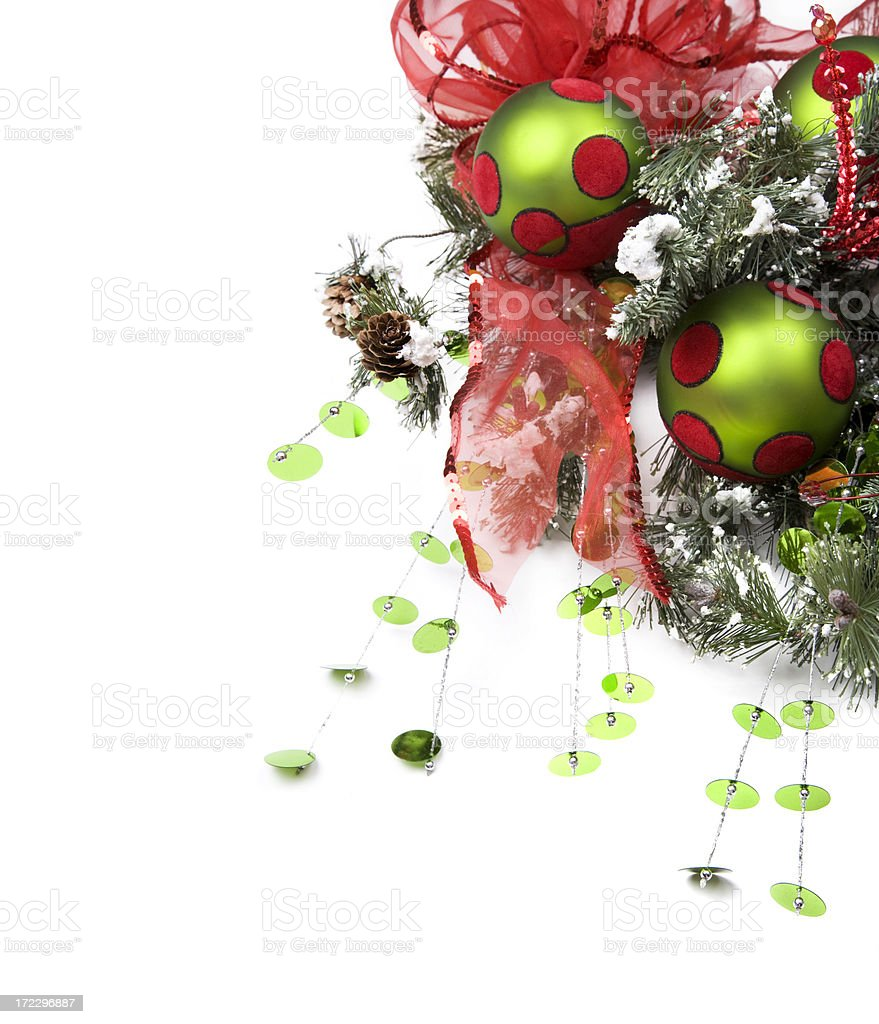 Festive Wreath XL royalty-free stock photo