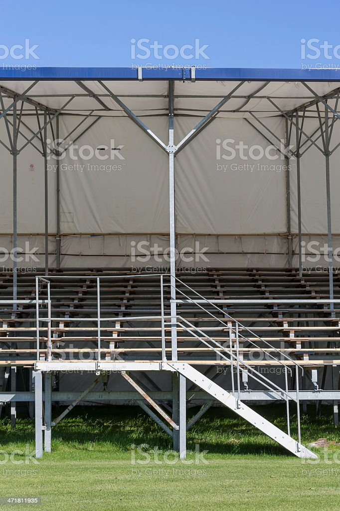 Festivity tent and stand royalty-free stock photo