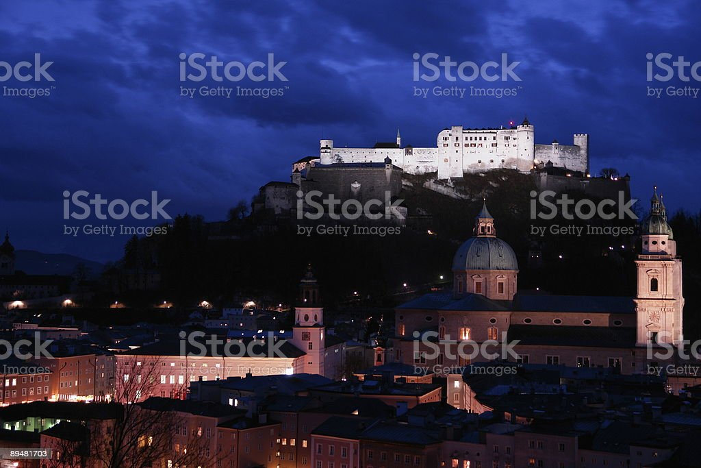 Festung Hohensalzburg royalty-free stock photo