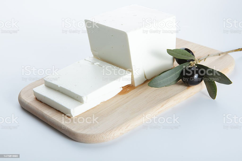 Feta cheese royalty-free stock photo
