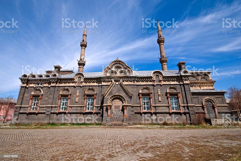 Fethiye Mosque in Kars, Turkey stock photo