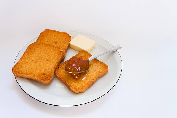 fette biscottate - fette biscottate foto e immagini stock