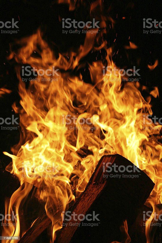Feuer stock photo