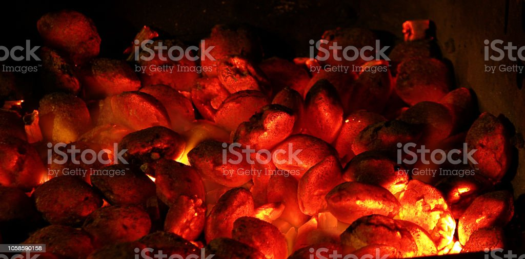 Feuerglut stock photo