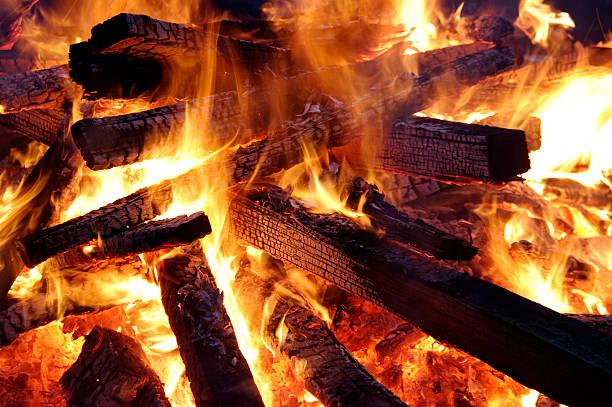 Feuerholz stock photo