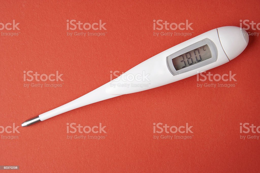Fever - Fieber royalty-free stock photo