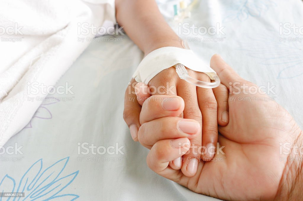 fever patients stock photo