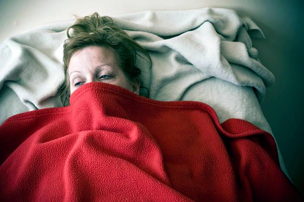 Fever stock photo