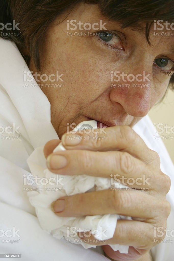 Fever royalty-free stock photo