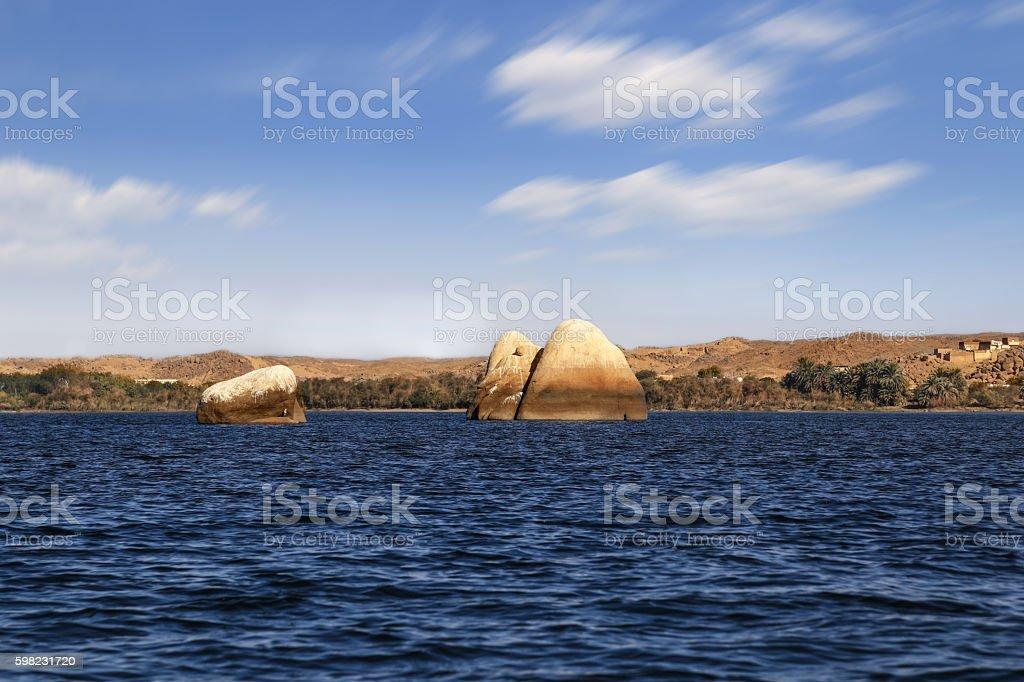 few big rock in the sea, in Egypt foto royalty-free
