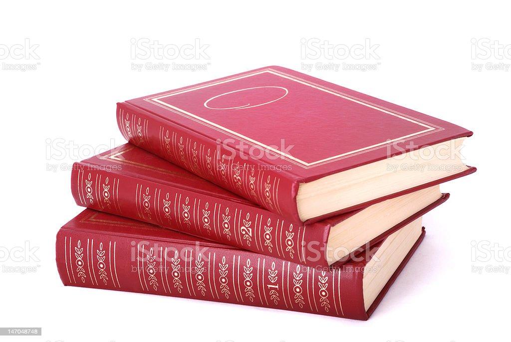 few books stock photo