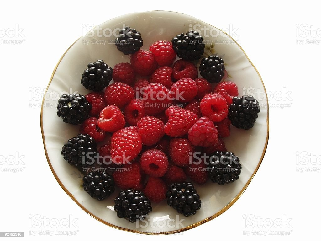 Few Fruits from Garden royalty-free stock photo