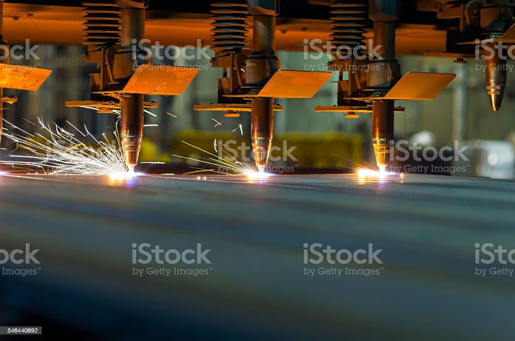 Few Oxygen Torches stock photo