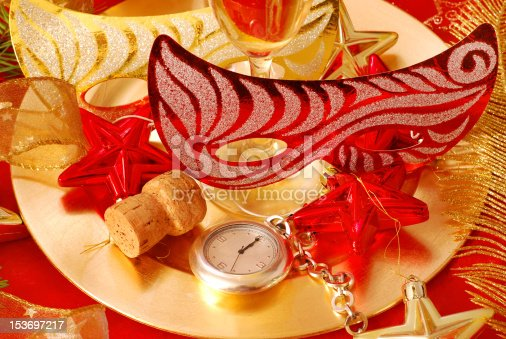istock few seconds to New Year 153697217
