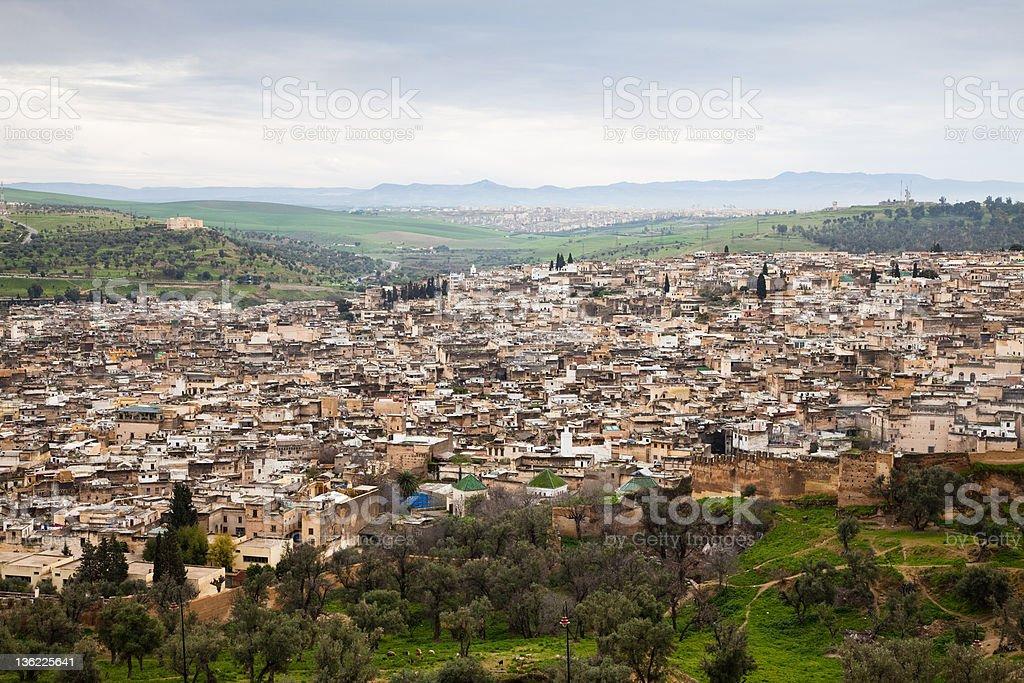 Fez, Morocco royalty-free stock photo