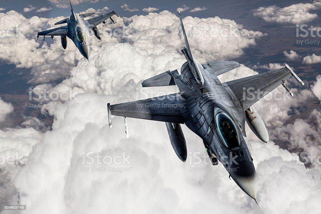 Fıghter Jet stock photo