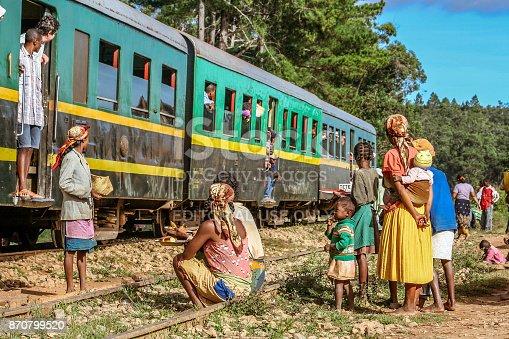 istock Fianarantsoa - East Coast train 870799520