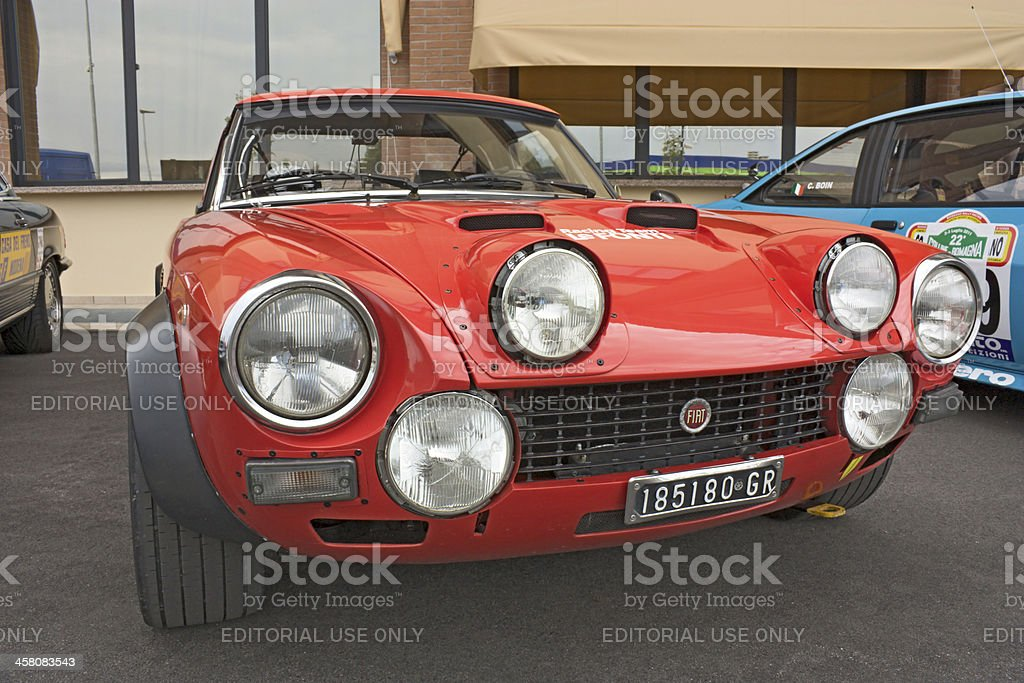 Fiat 124 Abarth Rally Stock Photo Istock
