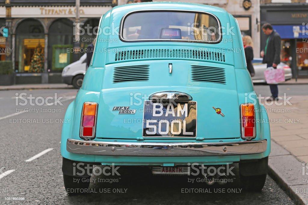 Photo De Stock De Fiat 500 Abarth Originale Images Libres De Droit