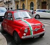 Fiat 500 in Bari, Italy