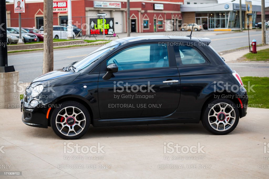 Fiat 500 royalty-free stock photo