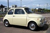 Fiat 500 Vintage Italian Car