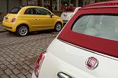 istock Fiat 500C Convertible 458634023