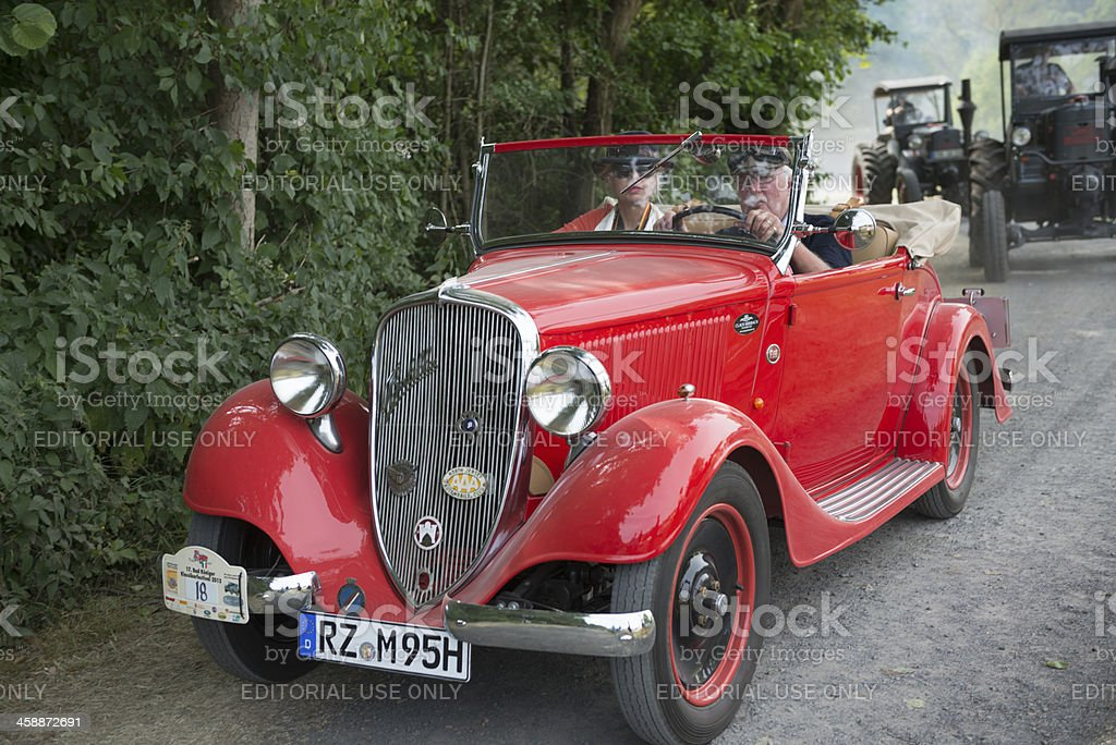 Fiat 508 Balilla Roadster royalty-free stock photo