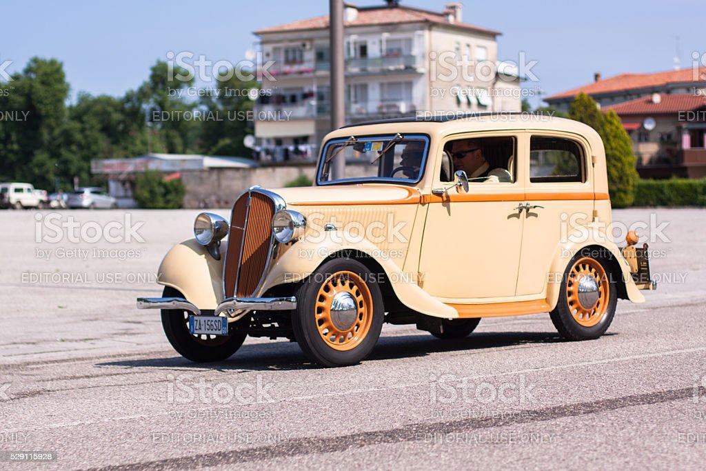 Fiat Balilla stock photo
