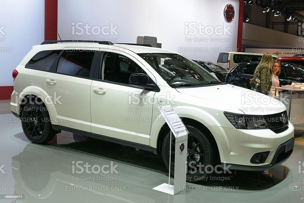 Fiat Freemont stock photo
