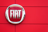 istock Fiat Logo and Sign 458590343