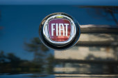 istock Fiat logo 458733665