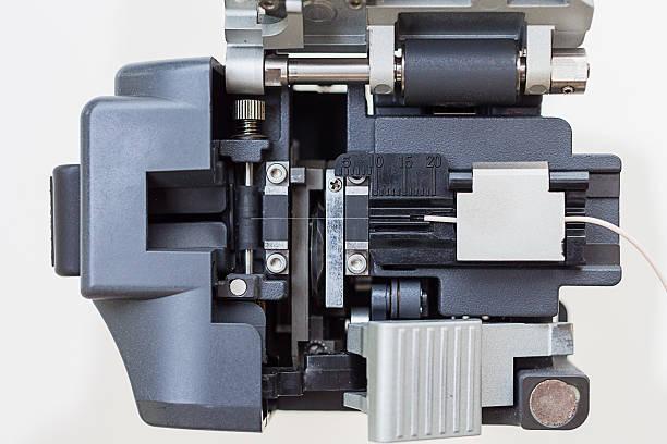 fiber optic cutter tools - spleißen stock-fotos und bilder