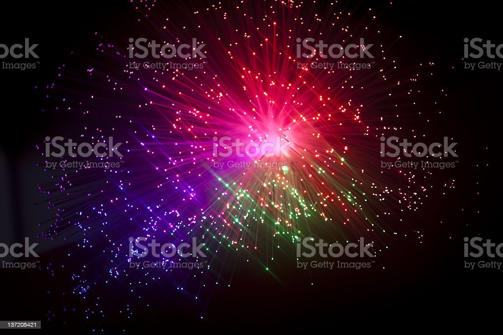 fiber optic stock photo