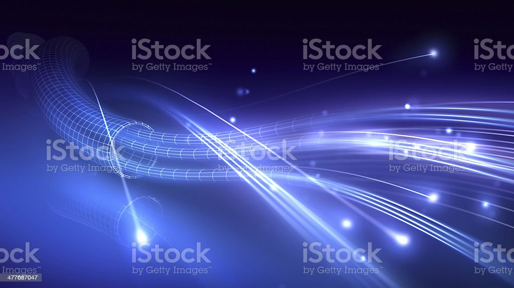 Fiber Optic stock photo