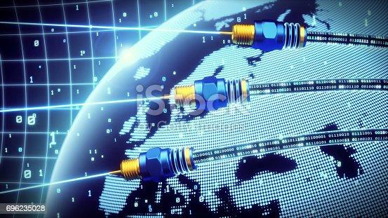 istock Fiber Optics Data World 696235028
