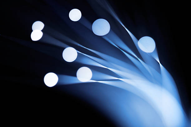 Fiber Optics stock photo