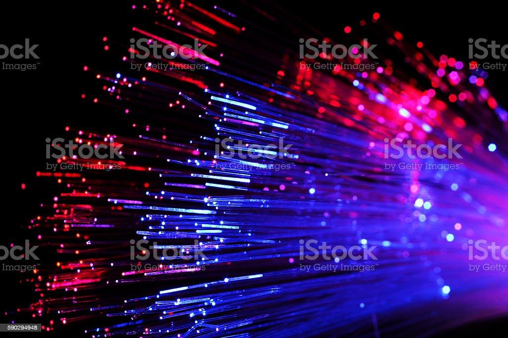 Оптических линий Стоковые фото Стоковая фотография