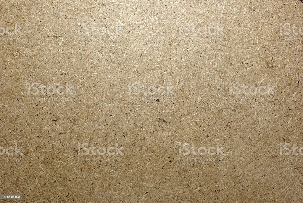 Fiberboard close-up. Can be used as background, backdrop. royalty-free stock photo