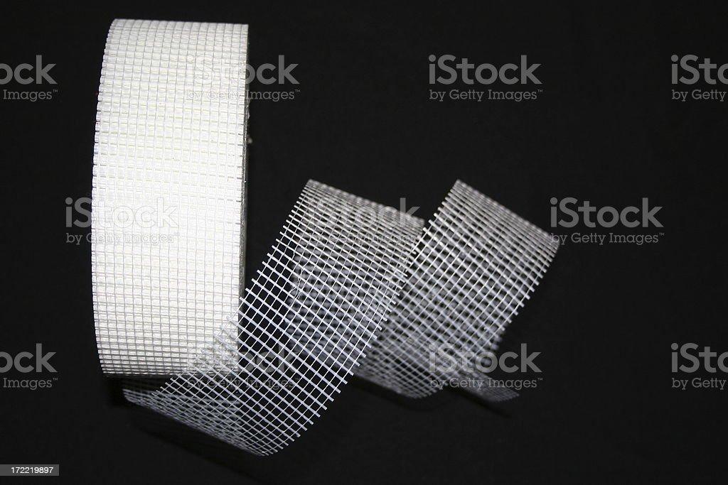 Fiberglass Joint Tape stock photo