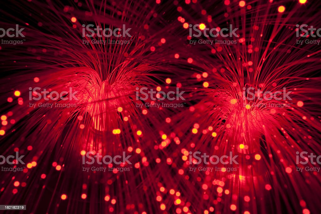 fibre optic spray royalty-free stock photo