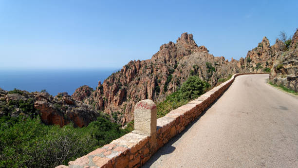 Route de montagne de Ficajola - Photo
