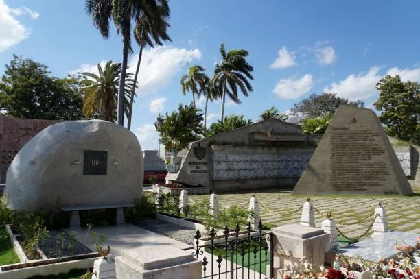 Fidel Castro grave in Santiago