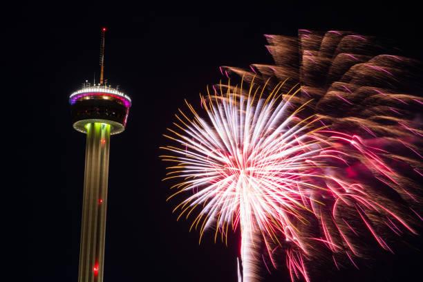 Fieesta San Antonio Opening Night Celebration stock photo