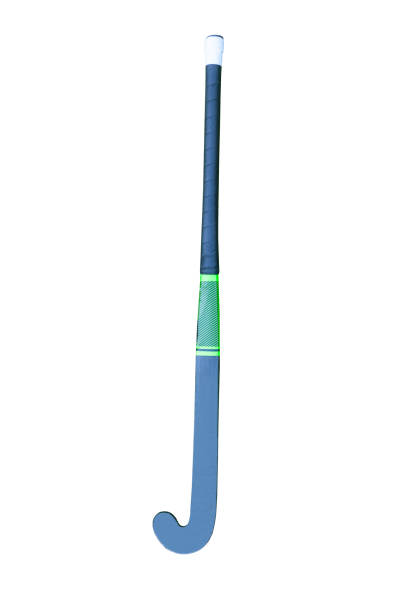 field hockey stick isolated on white - hockey stick stock pictures, royalty-free photos & images