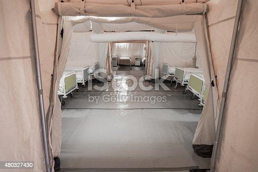 istock Field hospital 480327430
