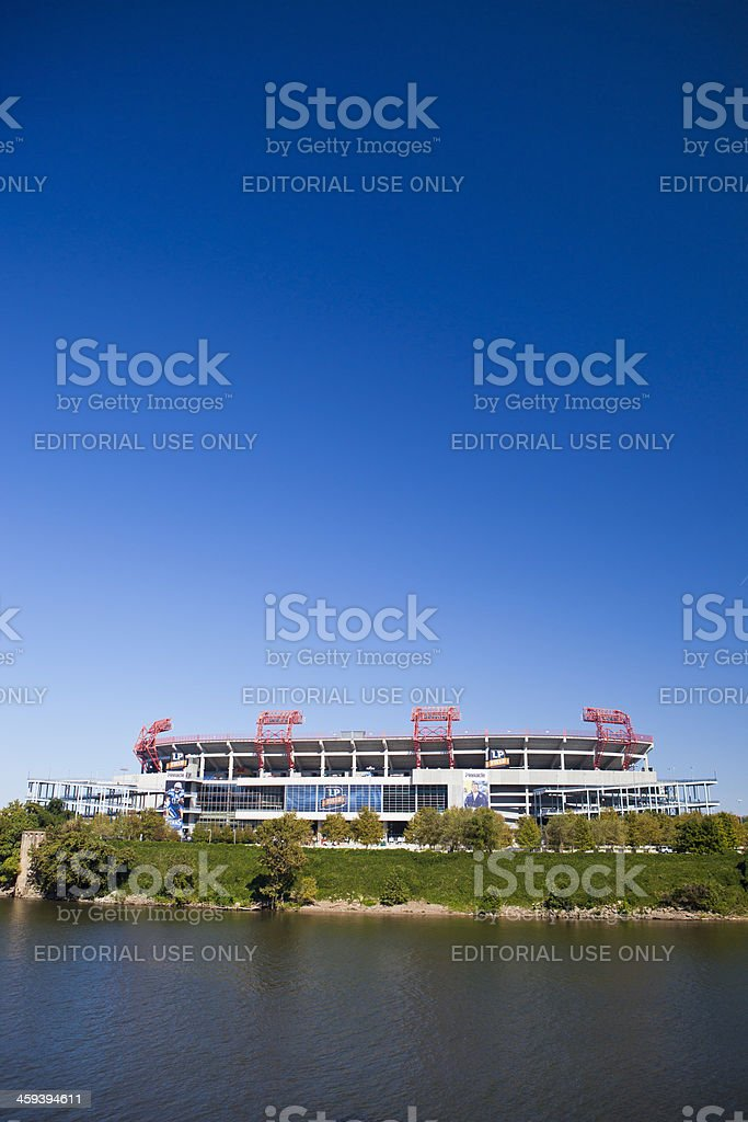 LP Field In Nashville, Tennessee stock photo