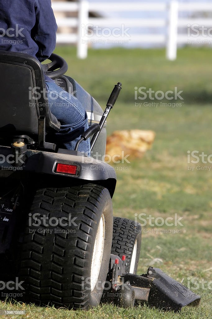 Field Mowing royalty-free stock photo