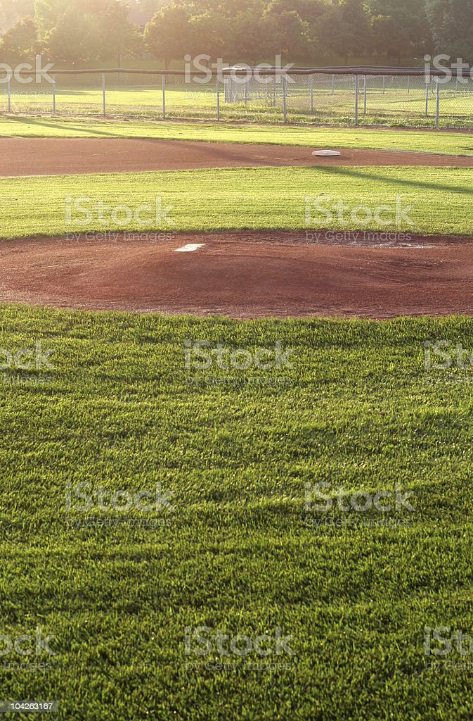 Field of Dreams stock photo
