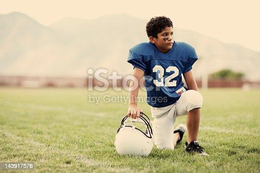 istock Field of Football Dreams 143917576